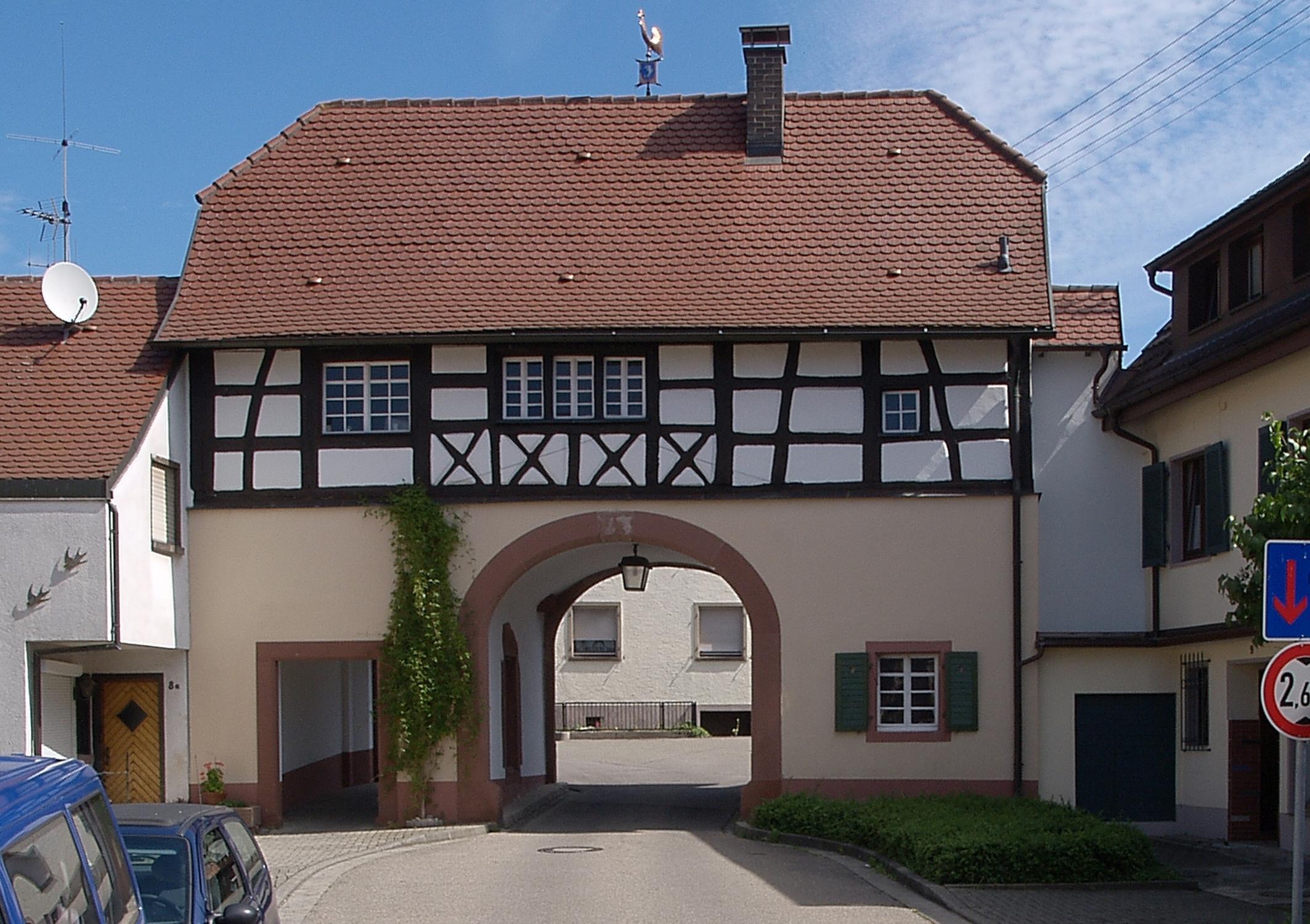 Das historische Torhaus in Malterdingen - Immobilienbewertung und Vermittlung für Malterdingen und das Umland